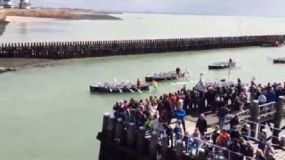 Dutch Marines Rowing Challenge - Aankomst in Vlissingen 06-09-2015